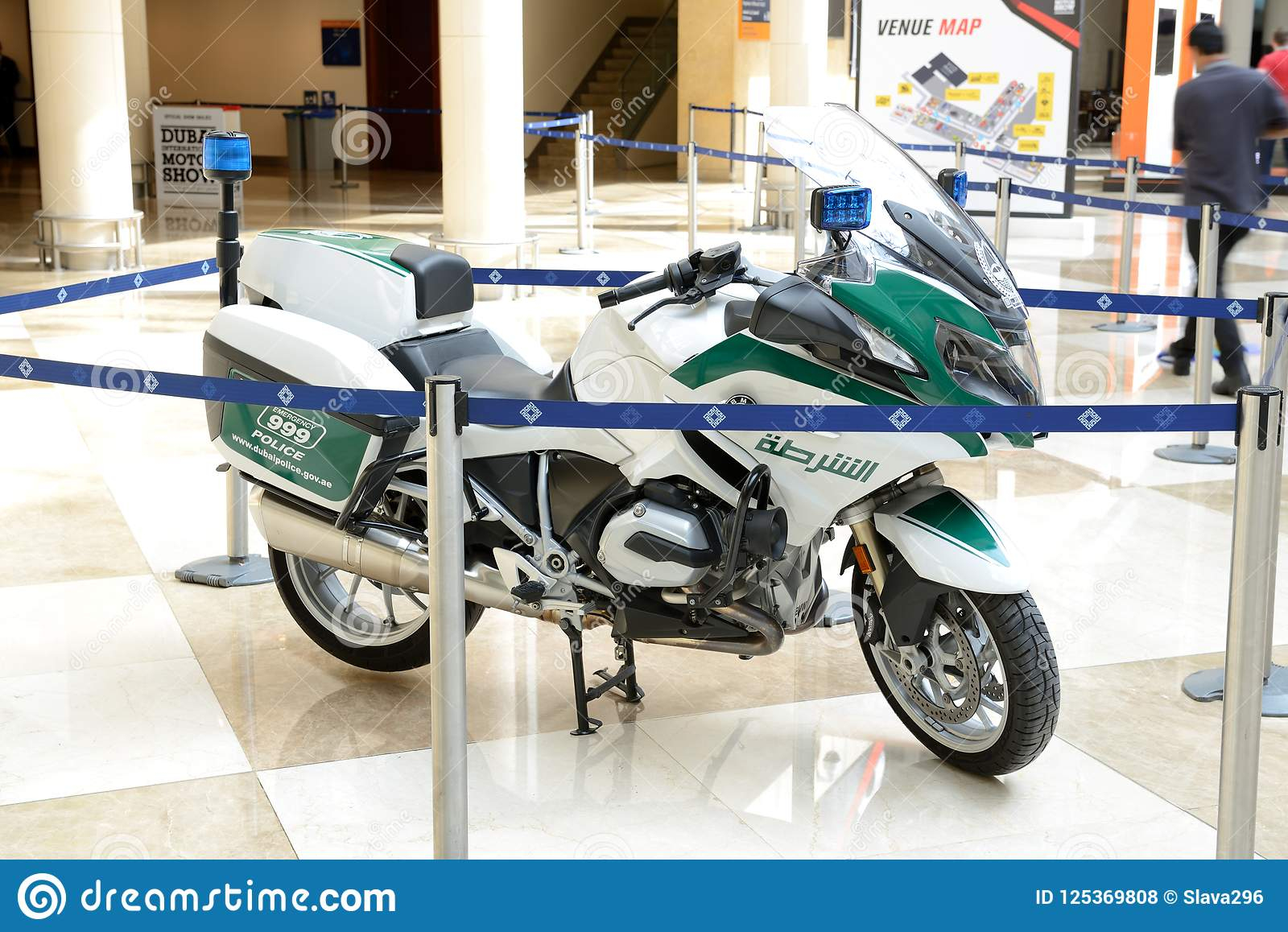 The BMW Bike Of Dubai Police Is On Dubai Motor Show 2017