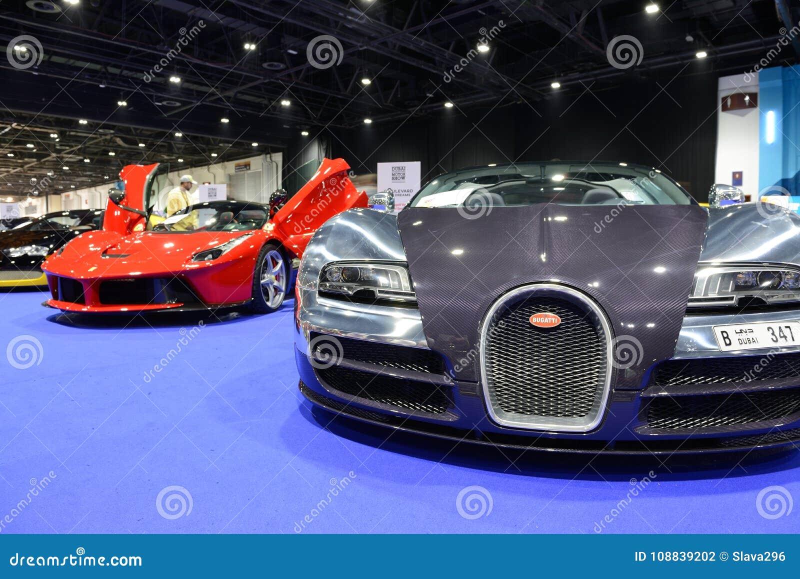 The Bugatti Veyron 6.4 Grand Sport Vitesse And Ferrari
