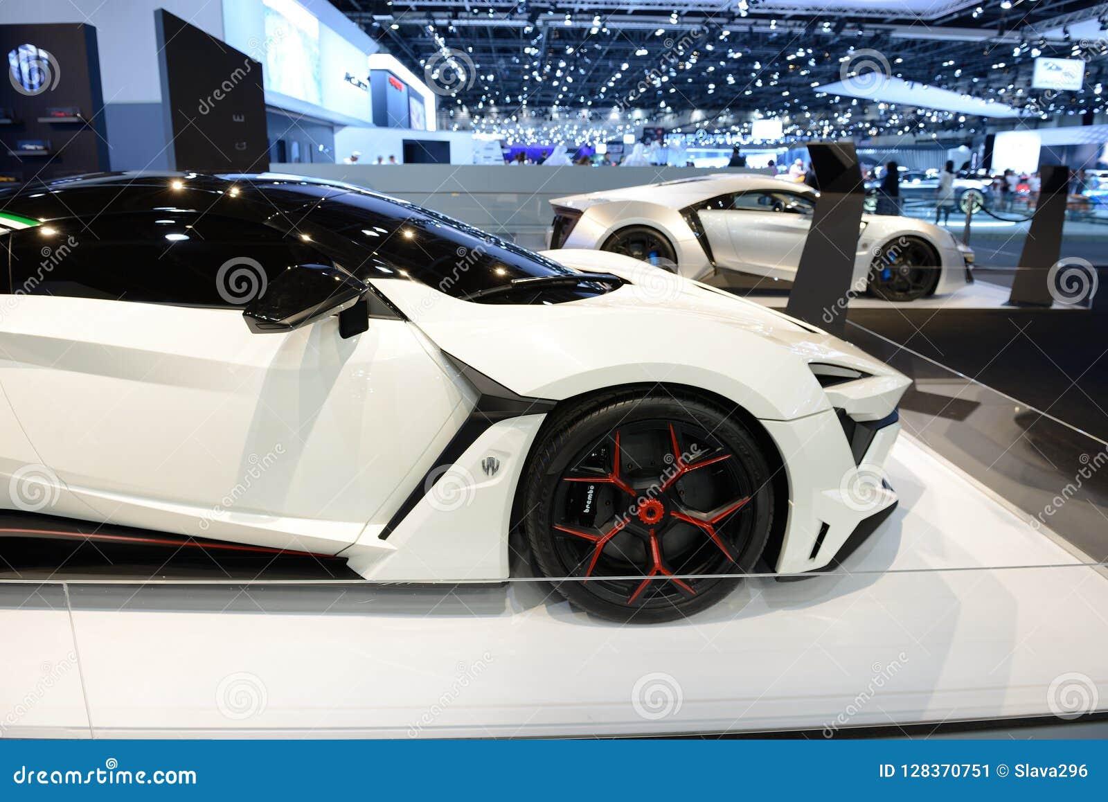 The Wmotors Fenyr And Lykan Hypersport Cars Is On Dubai Motor Show