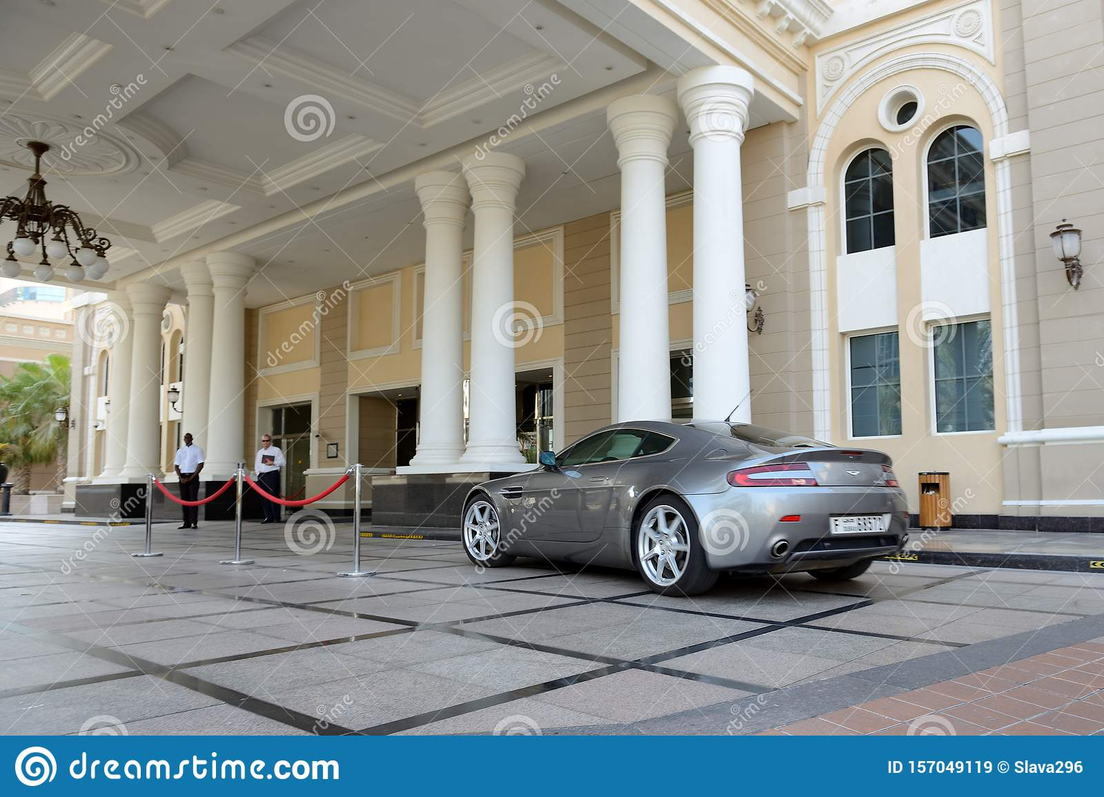 The Westin Hotel And Aston Martin Vantage Sport Car Editorial Stock Image Image Of Sport View 157049119