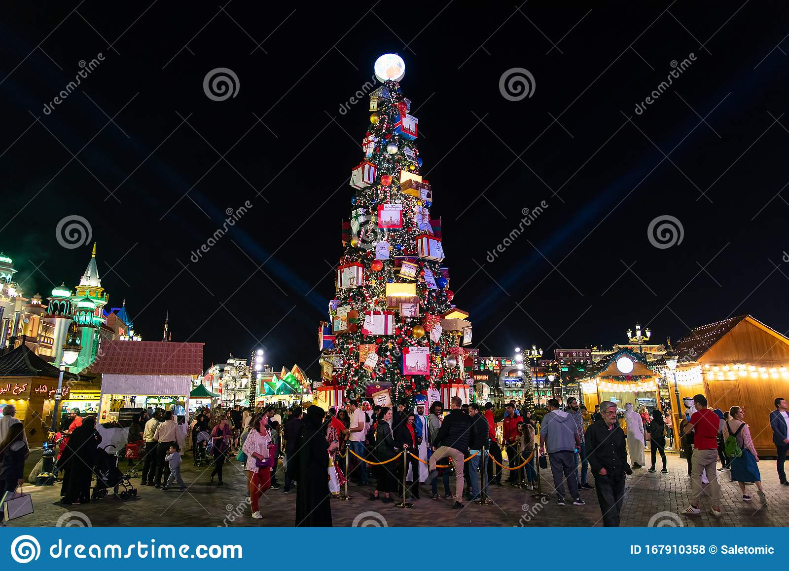 Dubai, United Arab Emirates - December 26, 2018: Global ...
