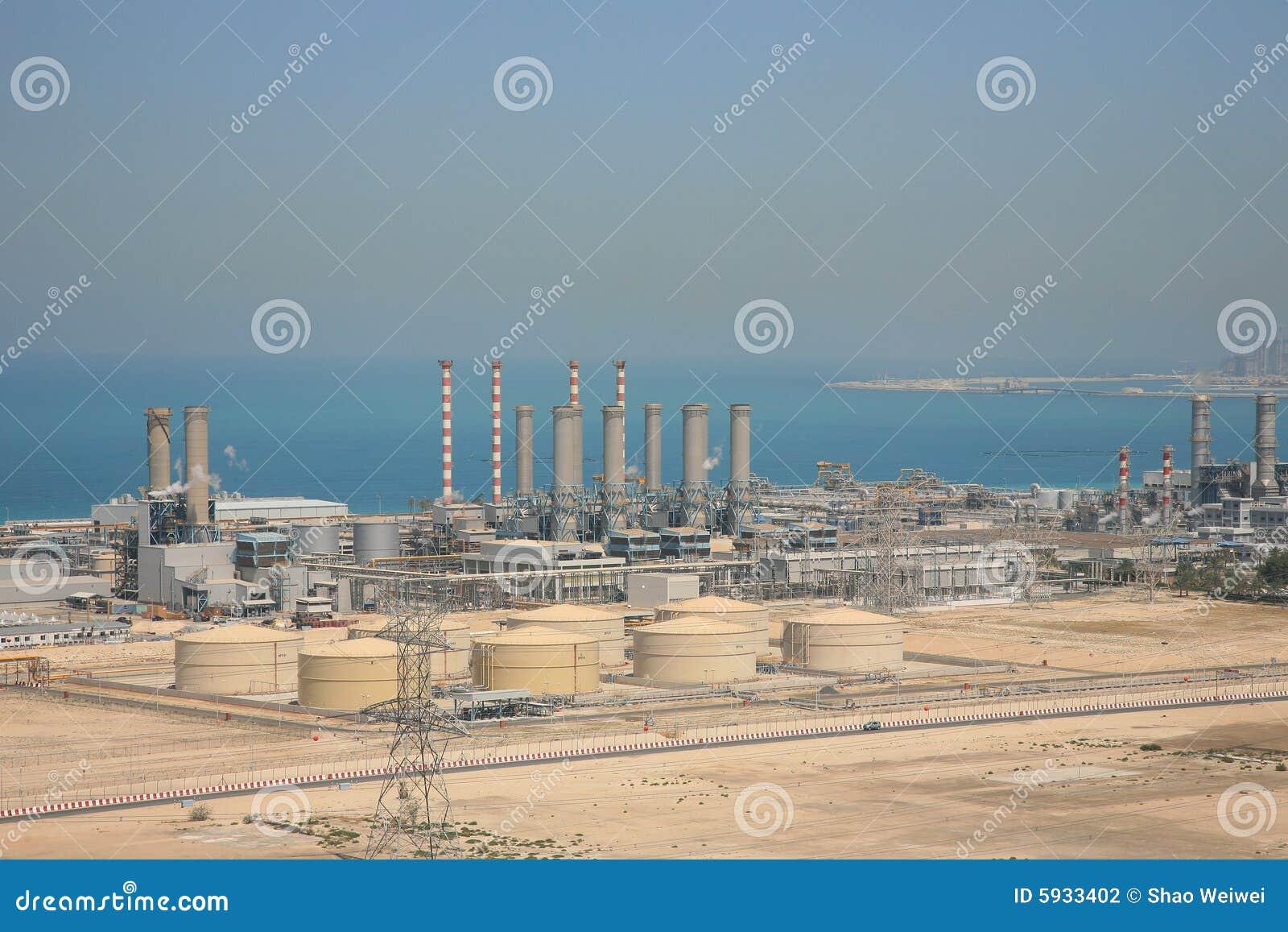Dubai Water Supply Plant Stock Photography Image 5933402