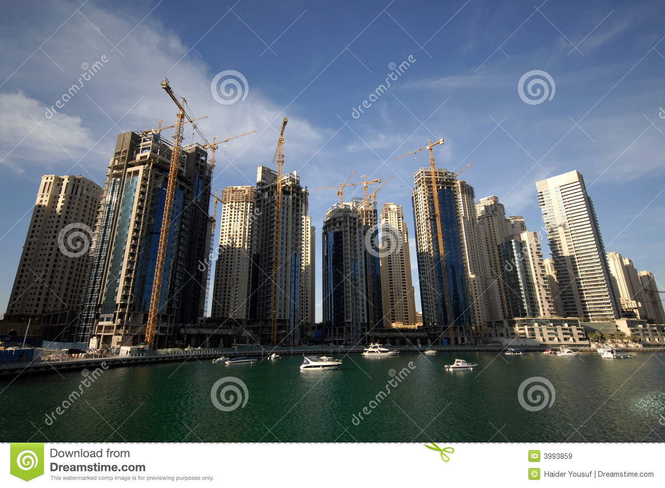 Dubai Waterfront Construction