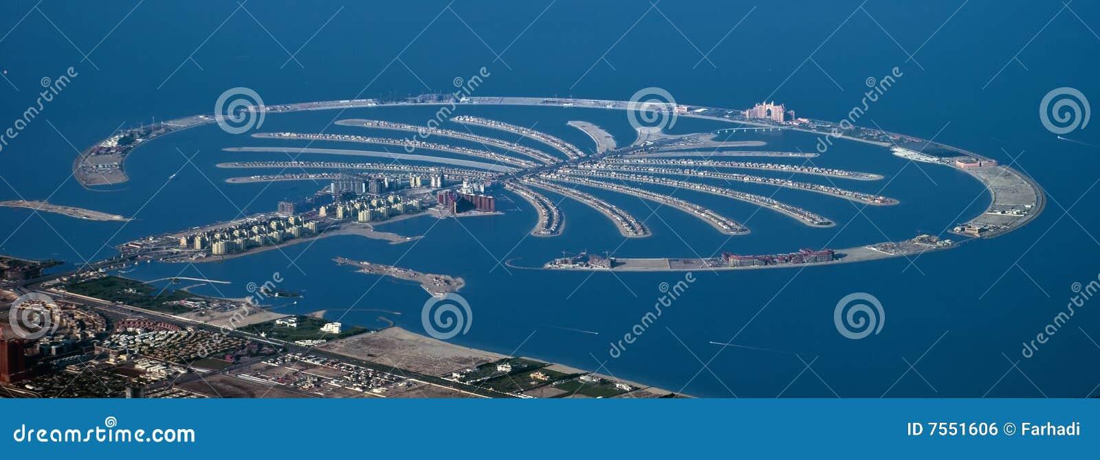 Dubai wyspy palma