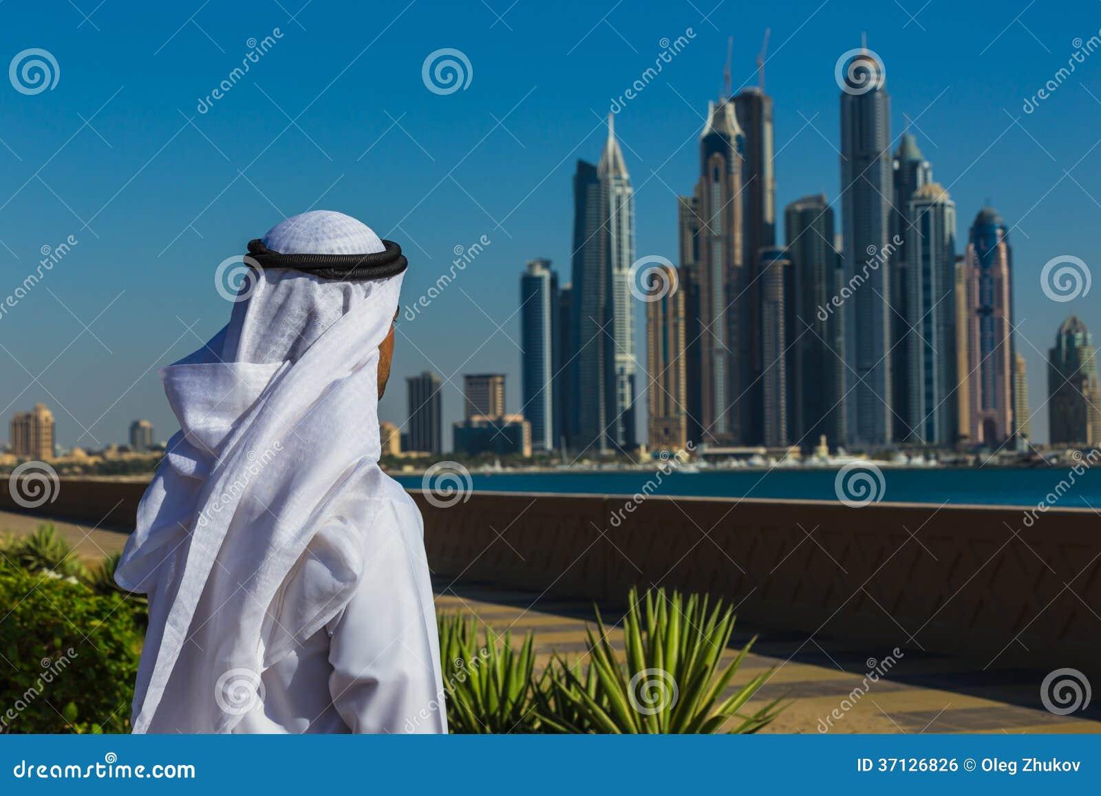 Dubaj Marina. UAE