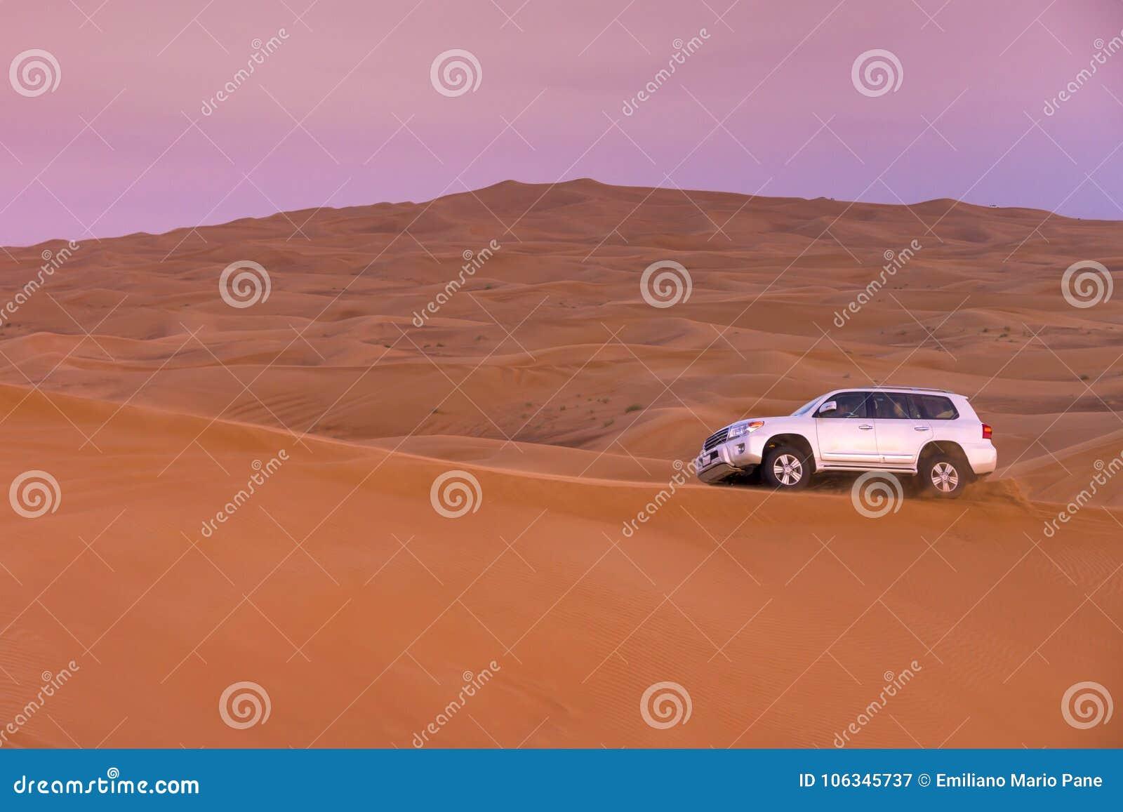 Dubaj pustyni safari