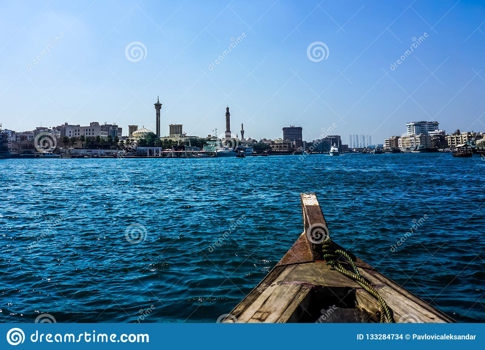 Dubaj zatoczka Souq