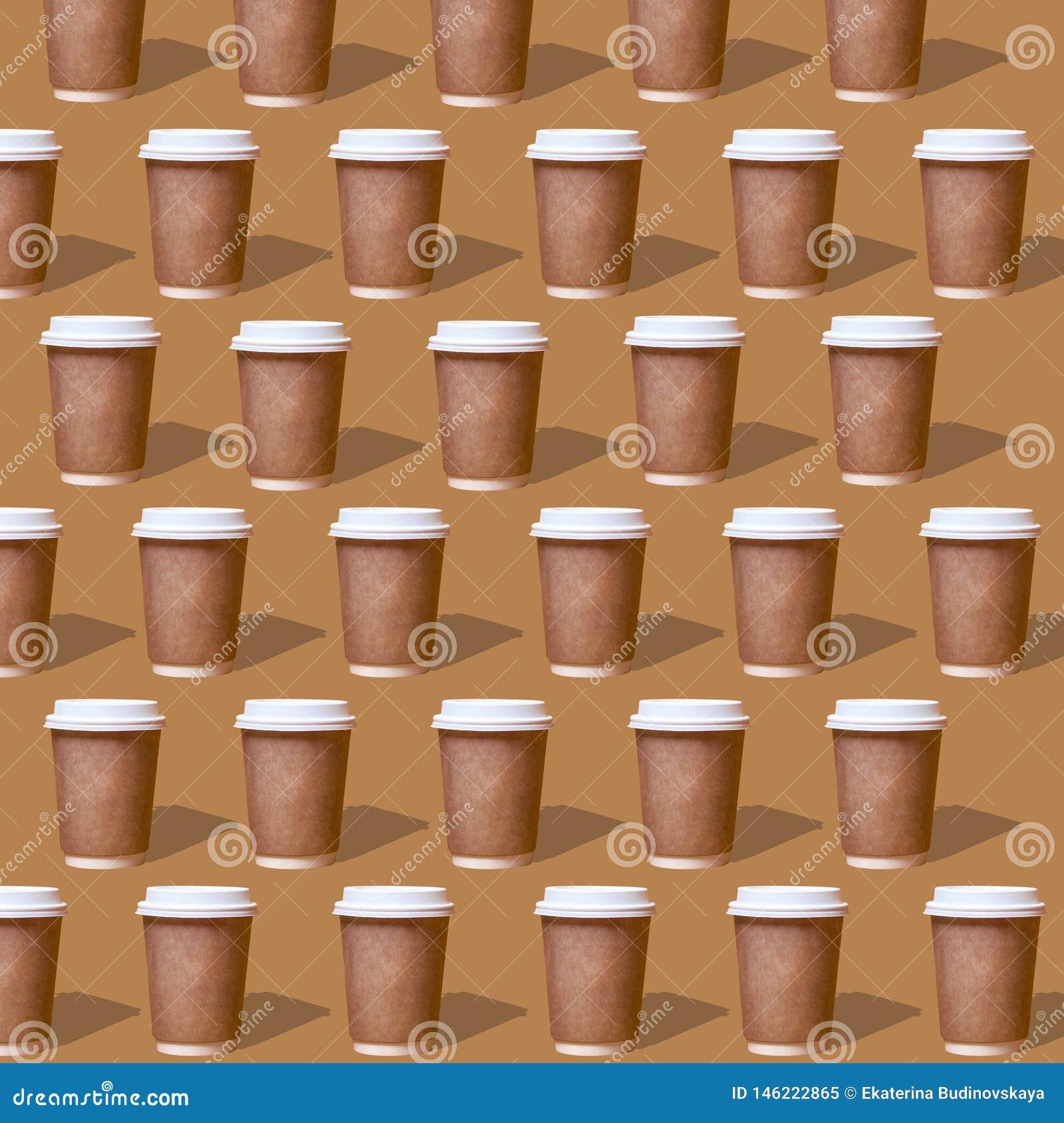 Dubbel patronenglas koffie