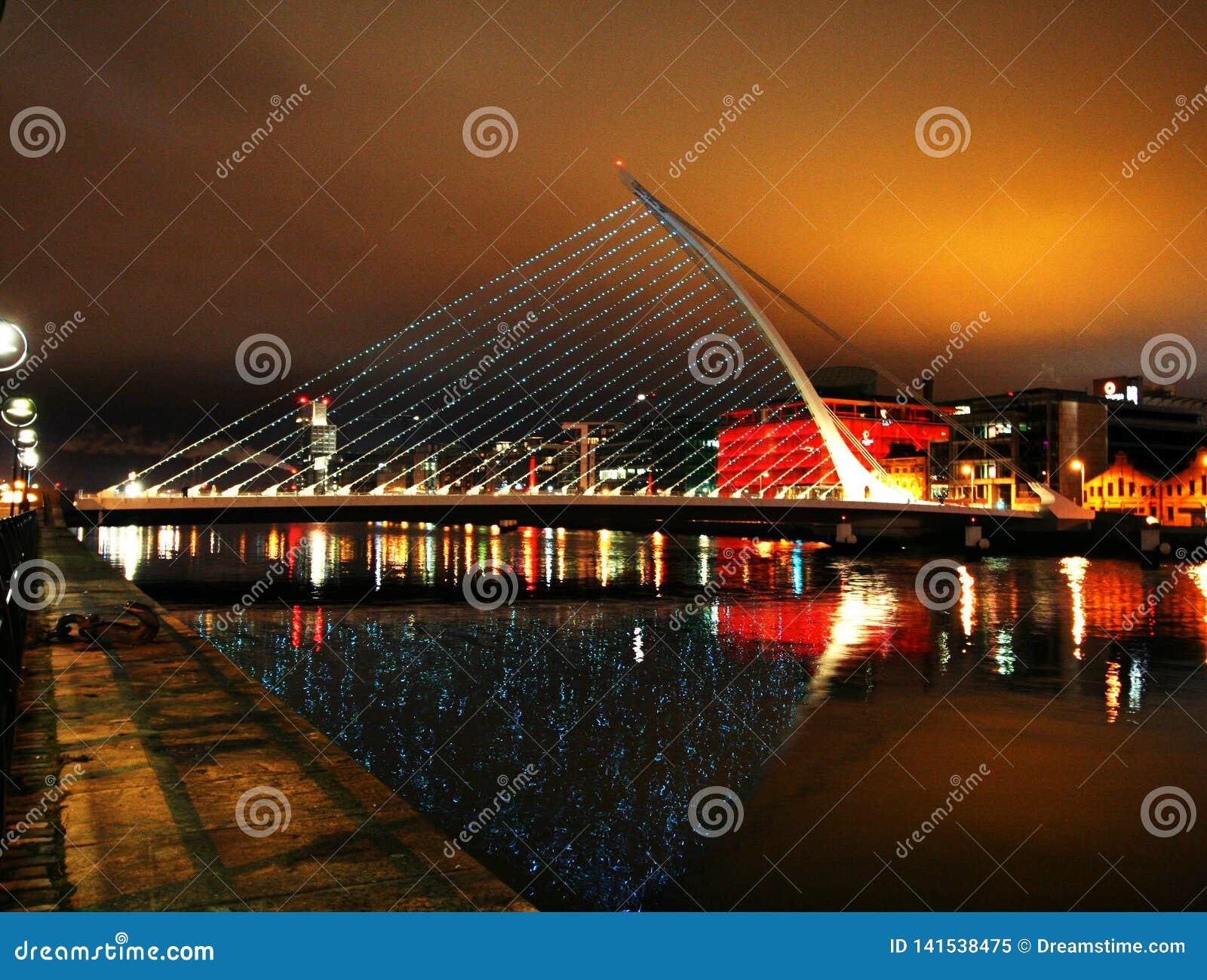 Dublin bij Nacht