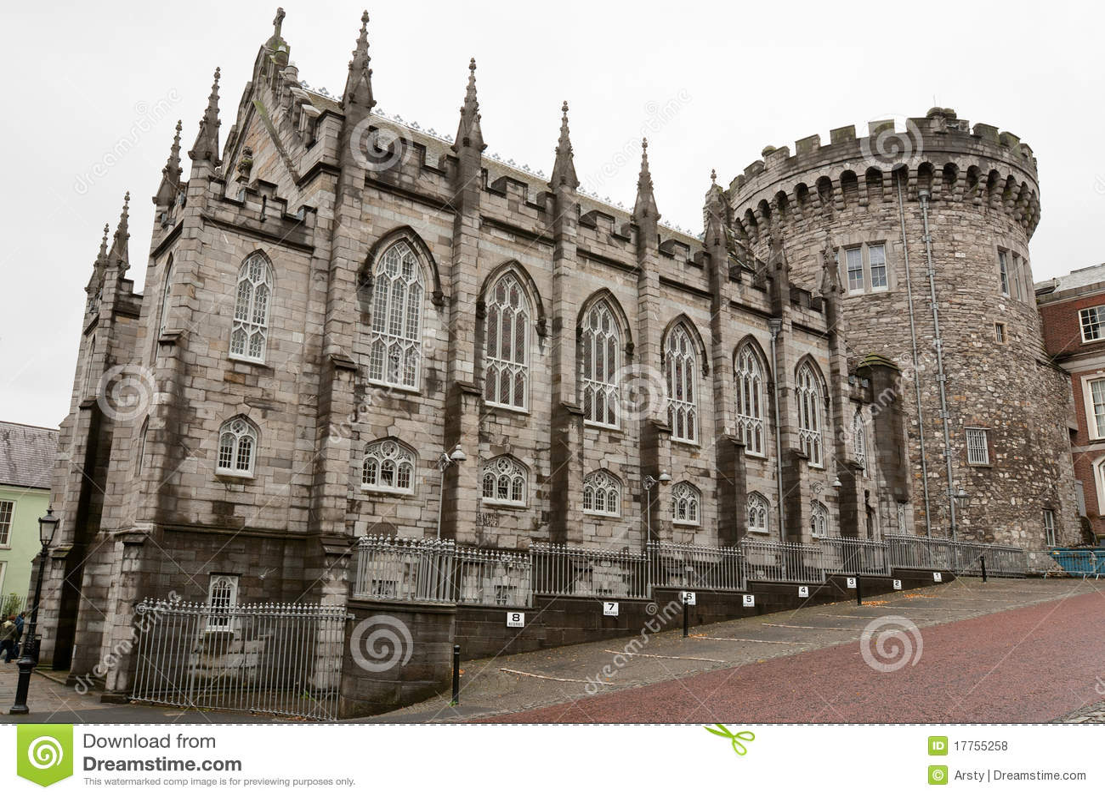 Dublin Castle. Ireland