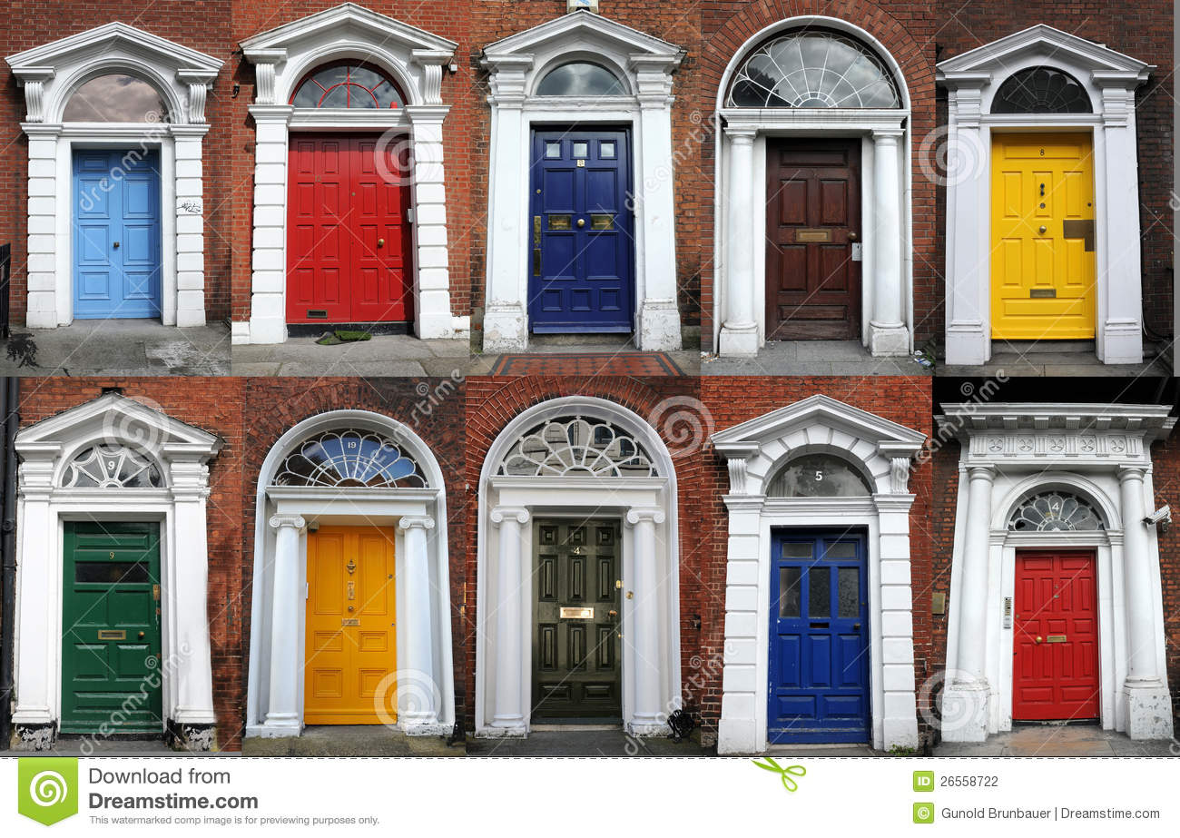 Dublin Doors Stock Photography Image 26558722