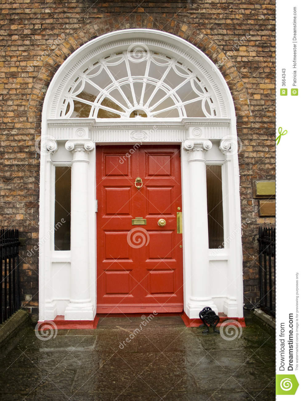 dublin georgian red door 3664343