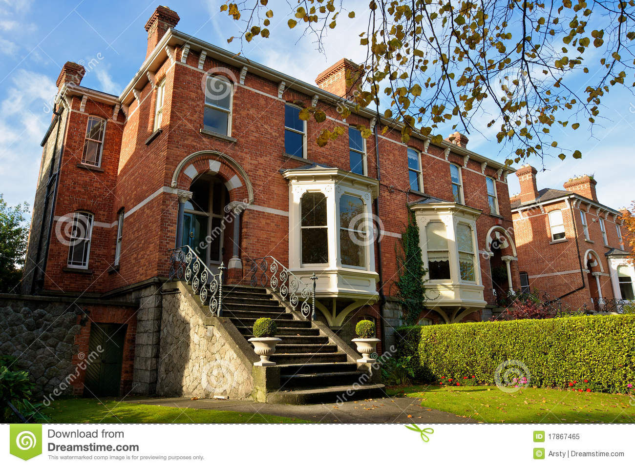 Dublin houses ireland stock image image of exterior for Classic house green street dublin 7