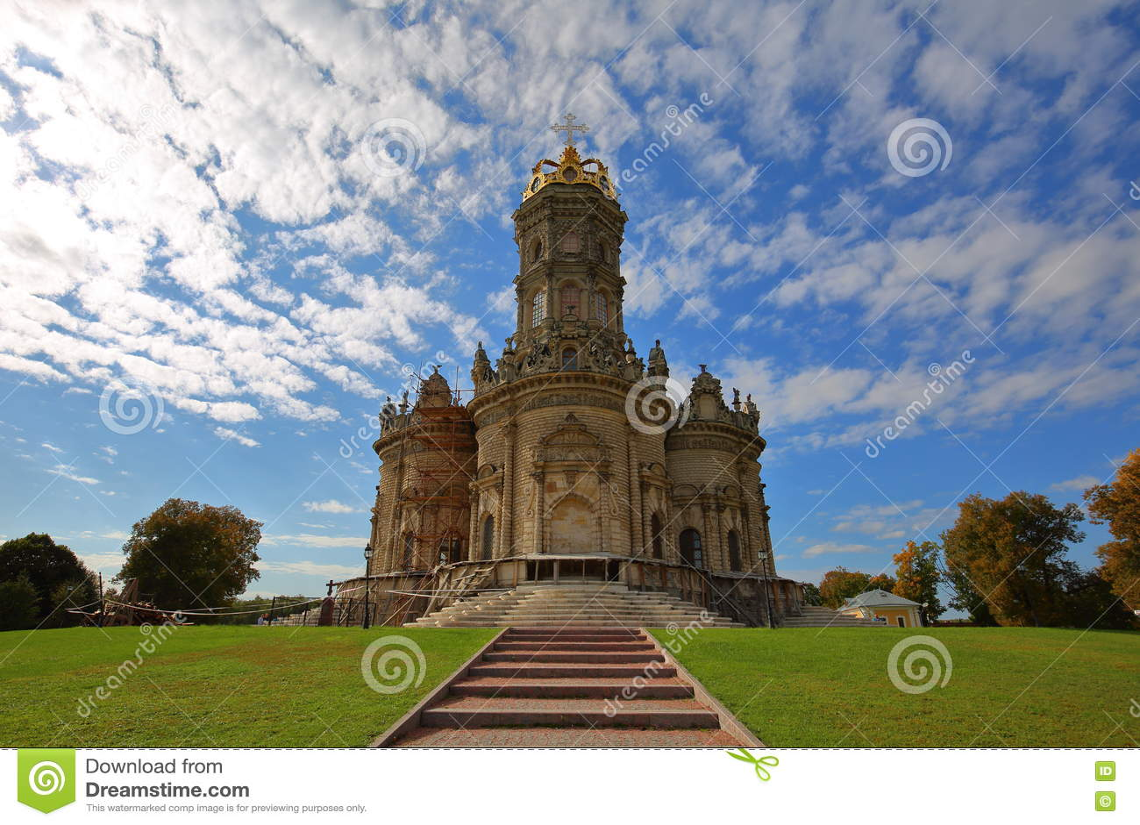 Dubrovitsy的教会