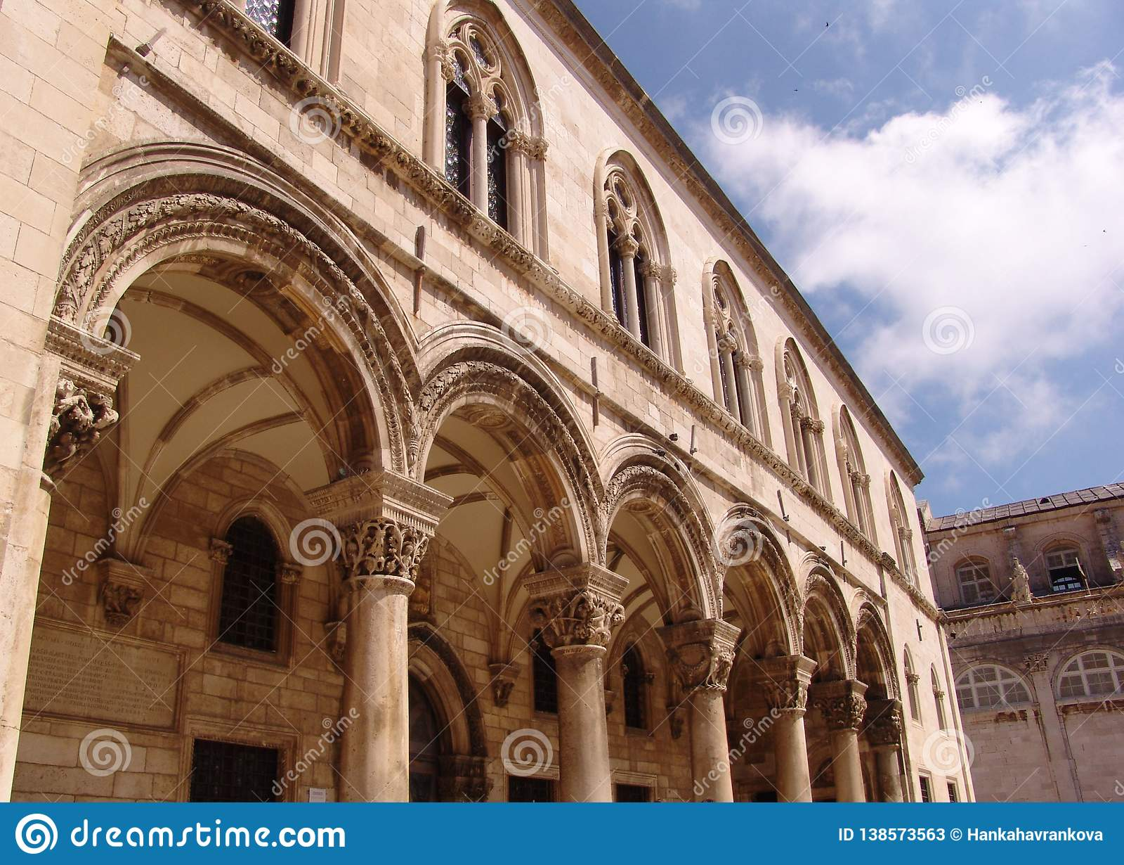 Dubrovnik łuk