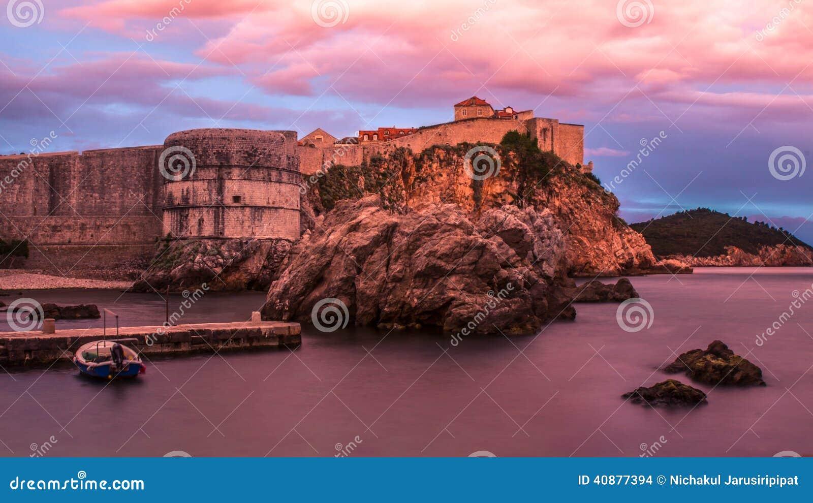 Dubrovnik ściana