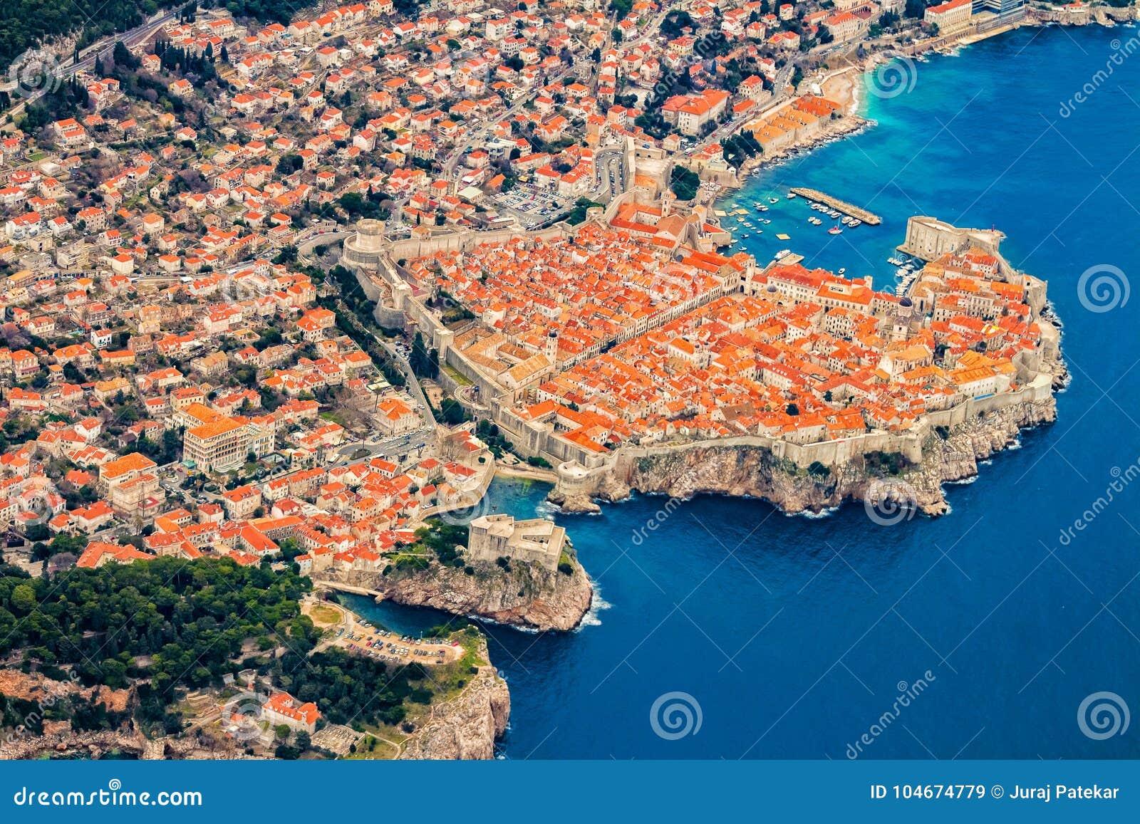 Dubrovnik από τον αέρα