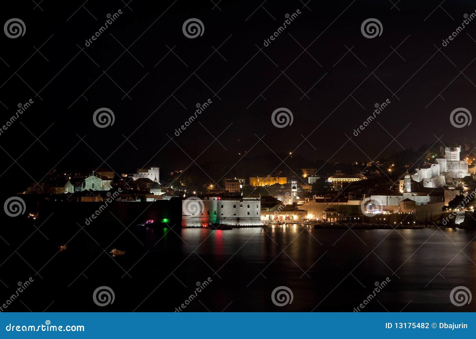 Dubrovnik νύχτα