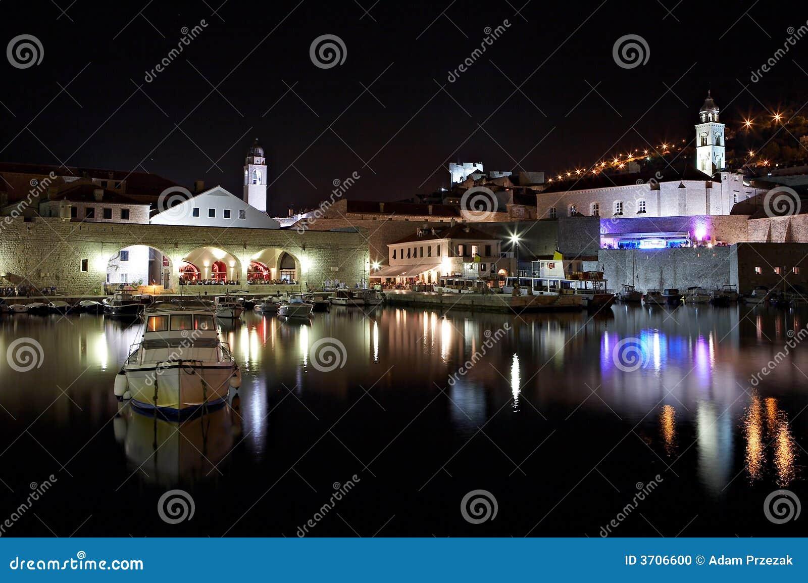Dubrovnik bis zum Nacht - Kroatien