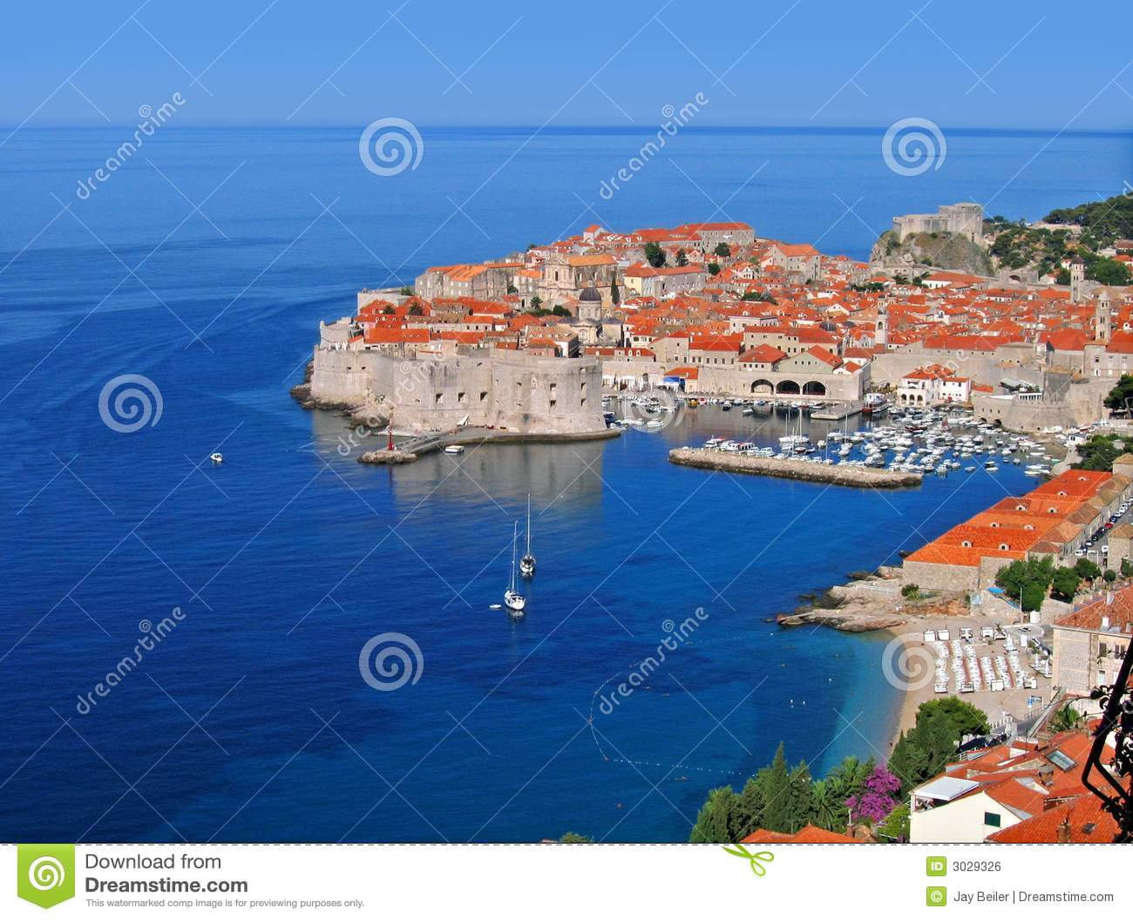 Dubrovnik croatia rano