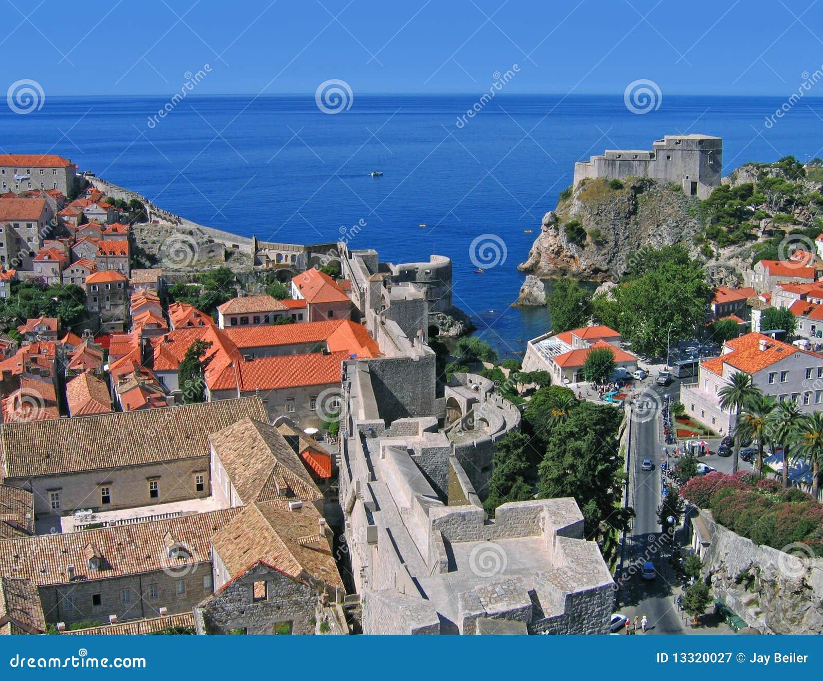 Dubrovnik de la torre