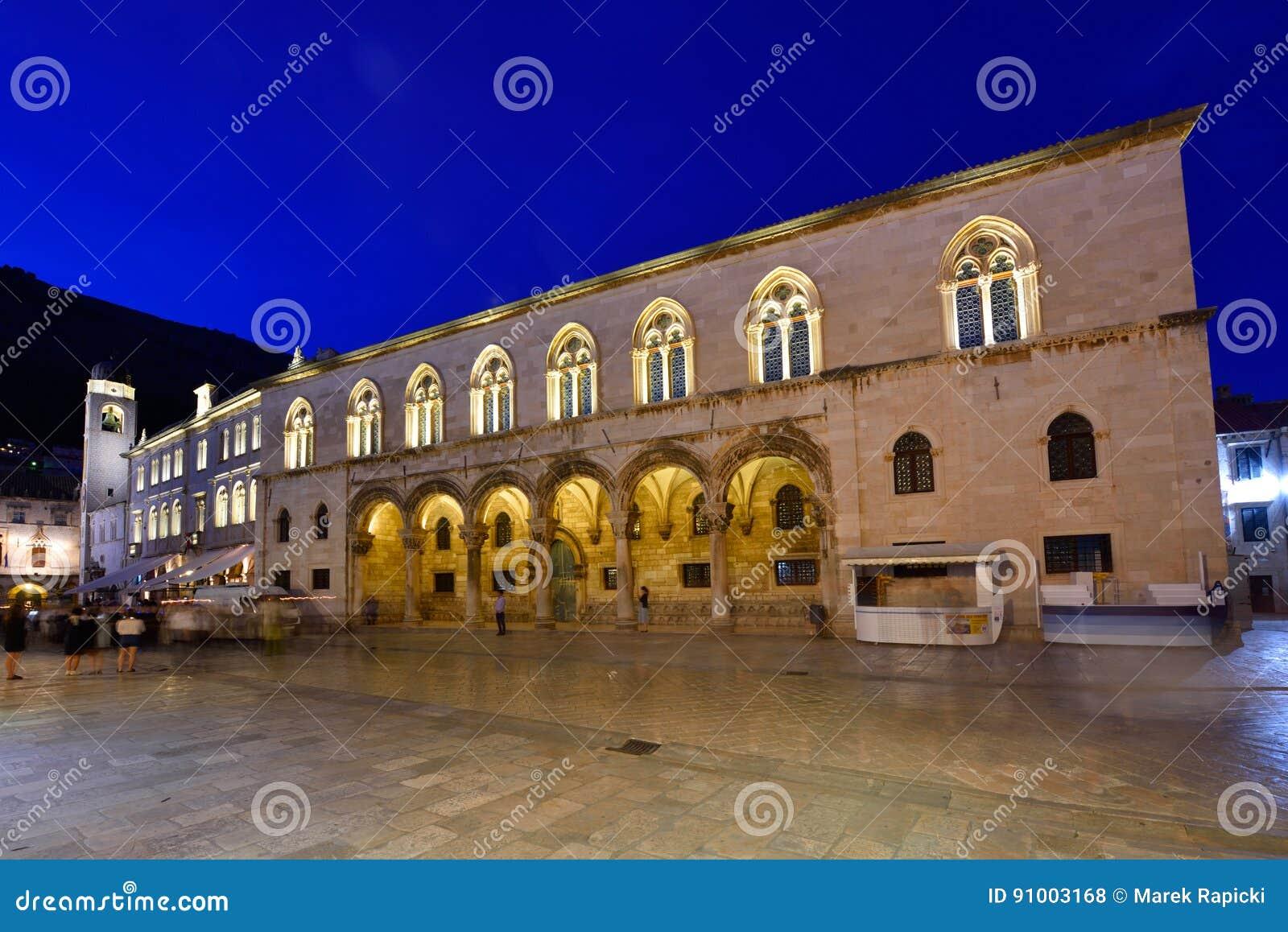 DUBROVNIK, de Oude Stad van KROATIË - van Dubrovnik