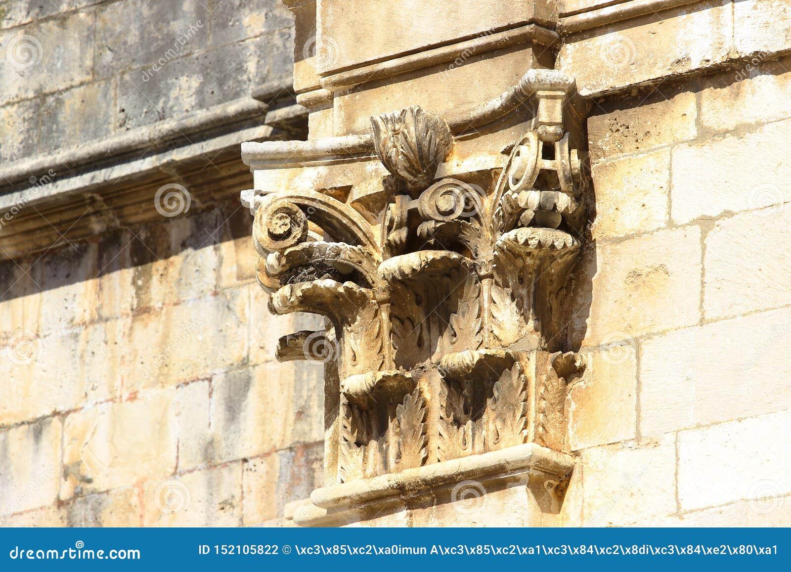 Dubrovnik-Kathedrale, Detail der Außendekoration