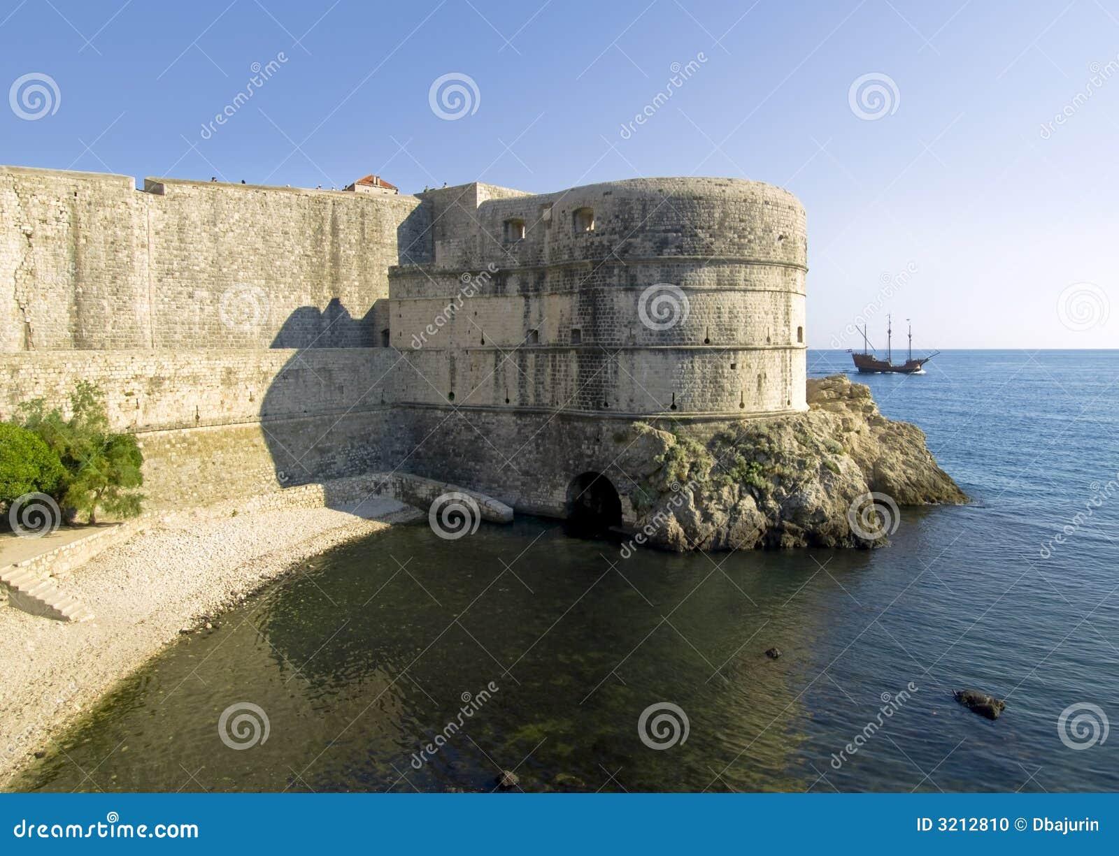 Dubrovnik mury miasta
