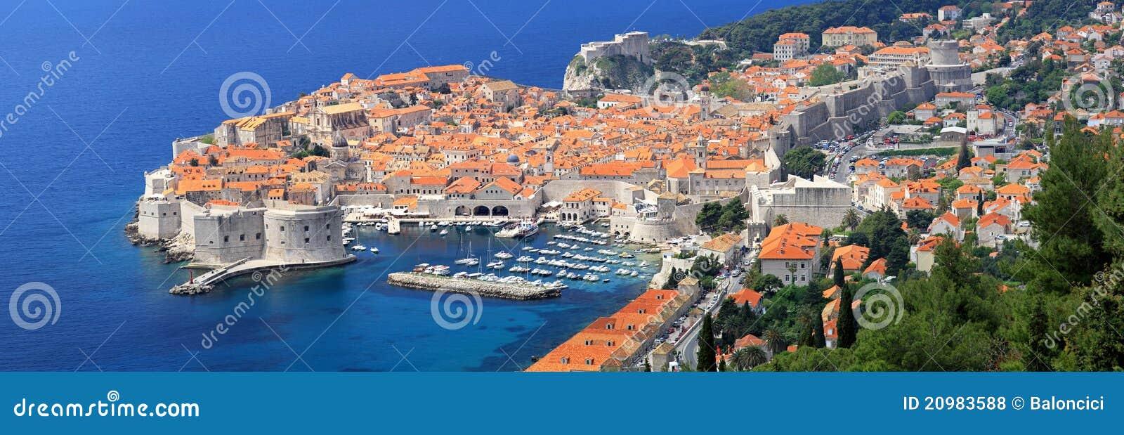 Dubrovnik panoramique