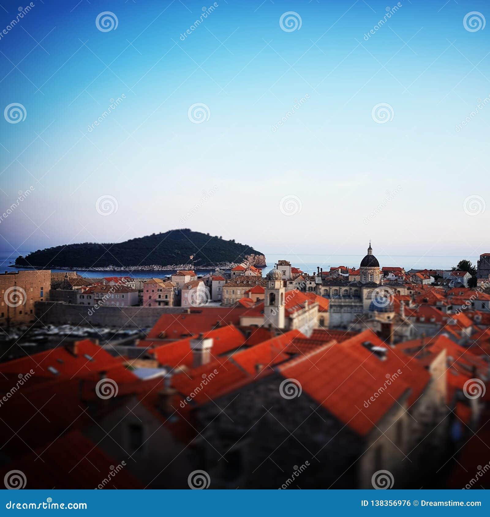 Dubrovnik starego miasta