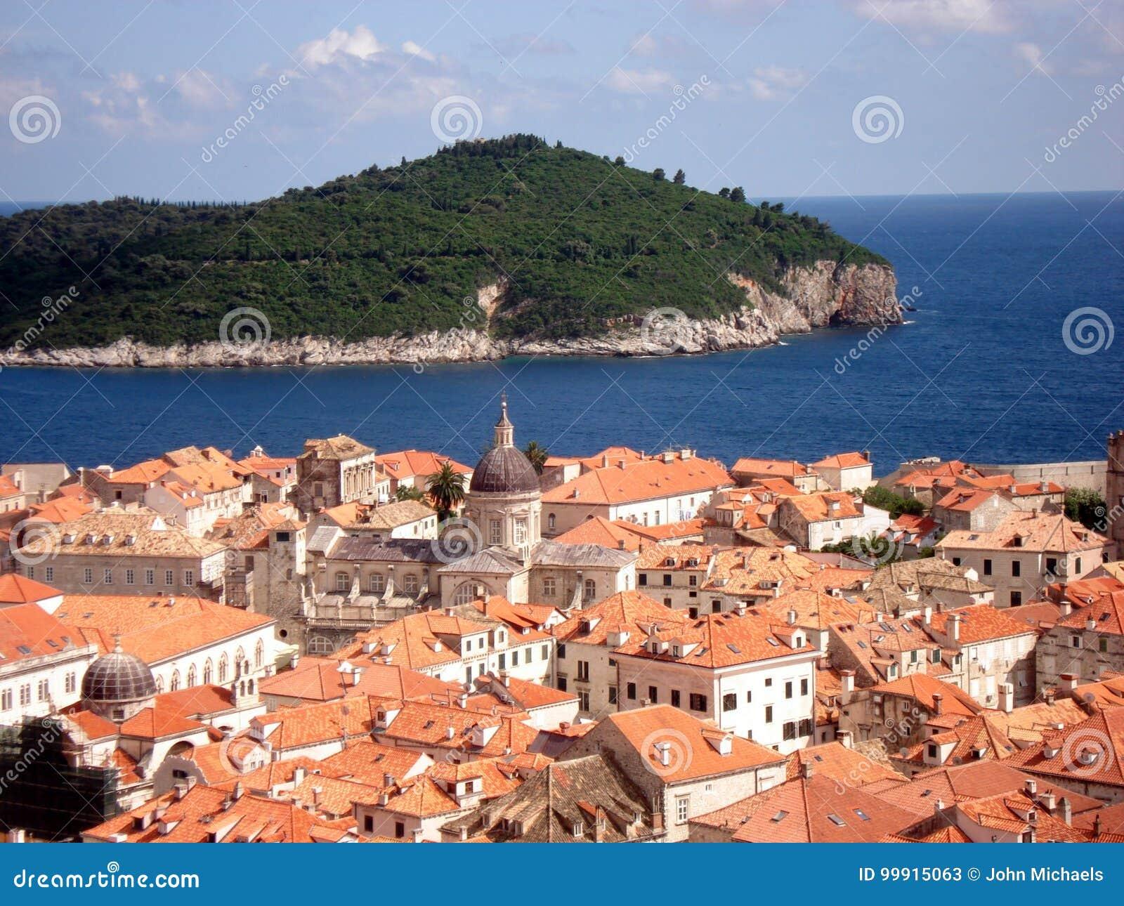 Dubrovnik tak - Kroatien