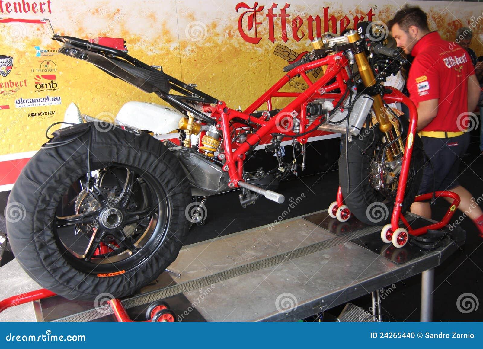 Ducati 1098R Effenbert Liberty without engine