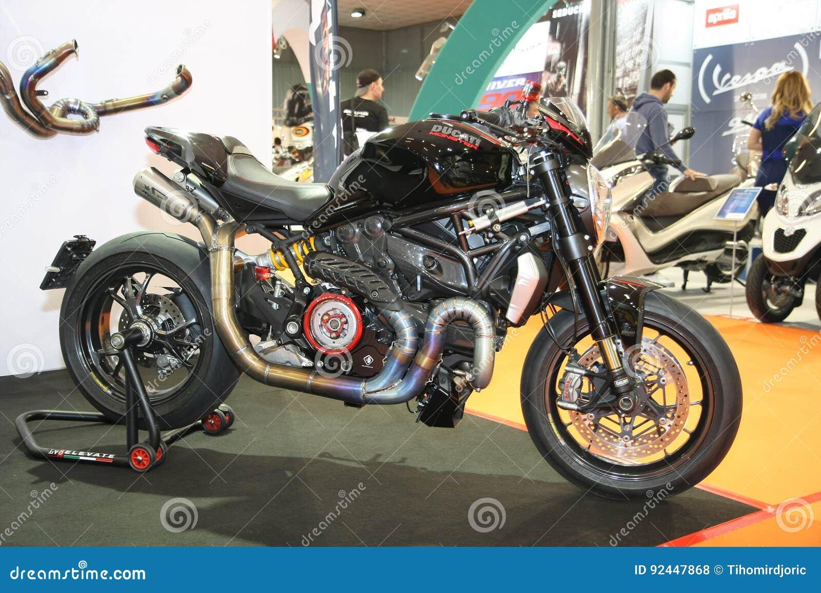Ducati At Belgrade Car Show Editorial Stock Photo Image Of