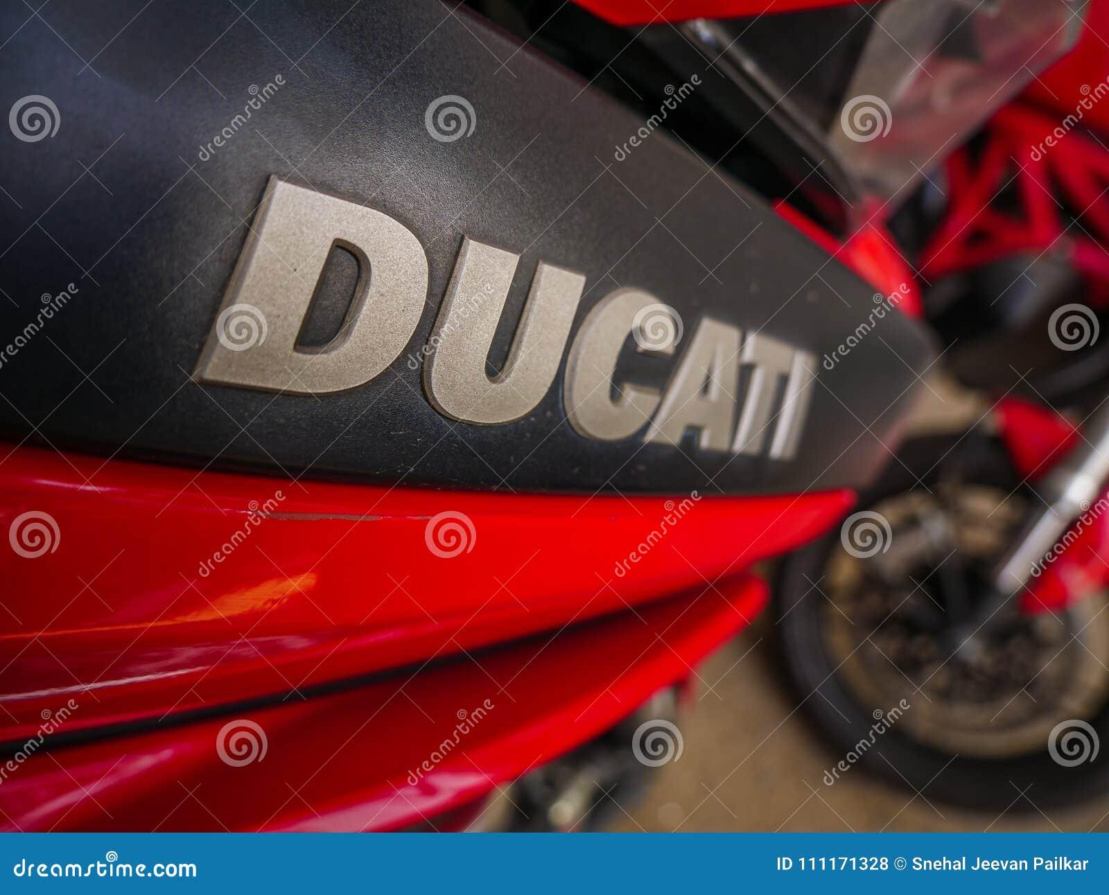 Ducati Logo Editorial Stock Photo Image Of Bike Italian 111171328