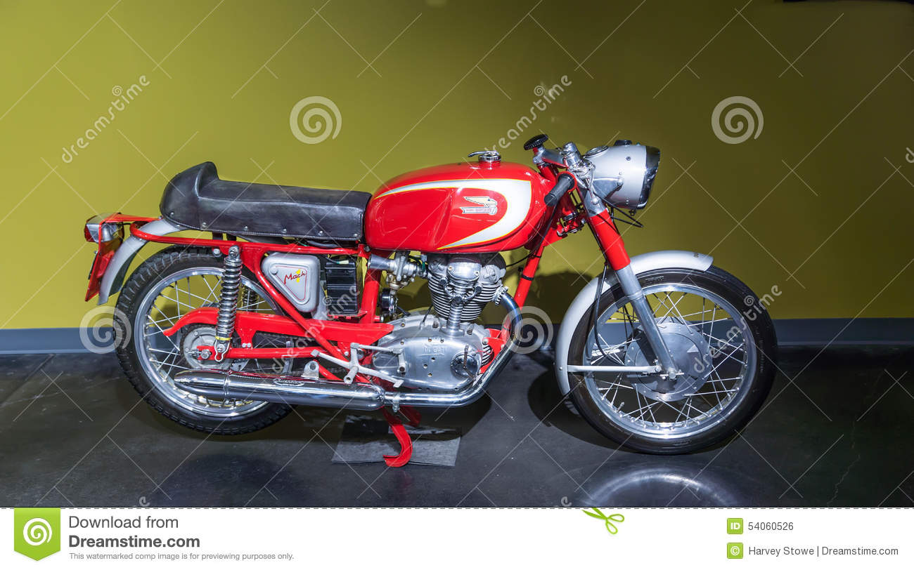 1965 Ducati 250 Mach 1 Motercycle Editorial Photo Image Of 1965