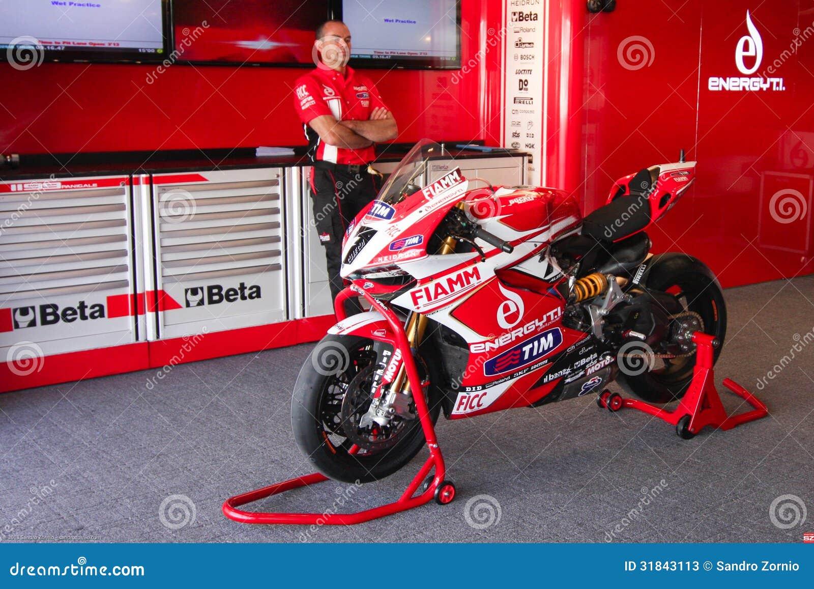 Ducati 1199 Panigale R Team Ducati Alstare Superbike WSBK