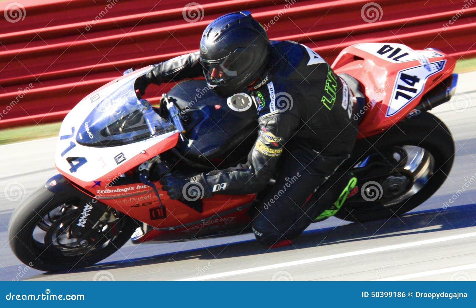 Ducati race motorcycle