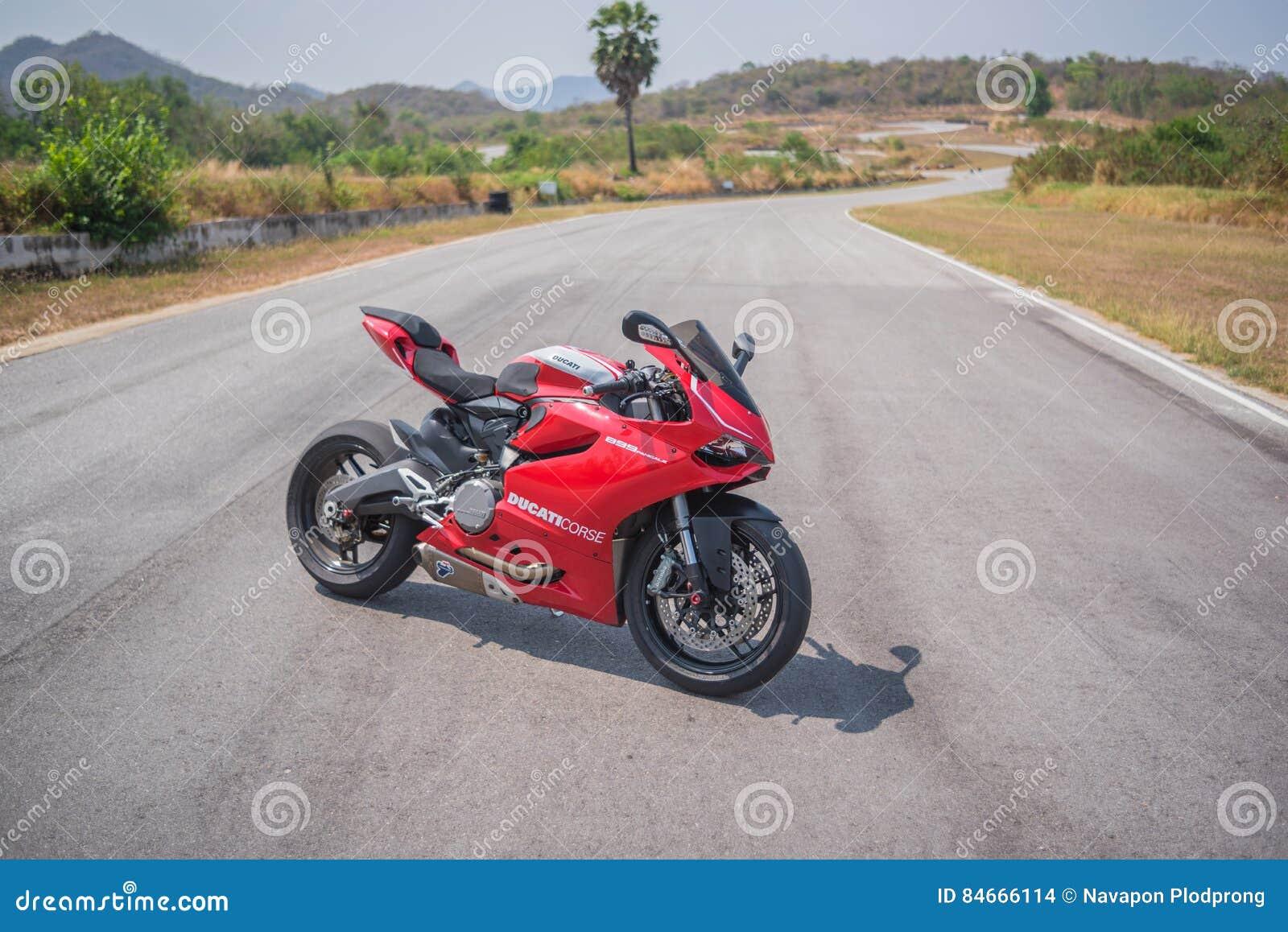 Ducati 899 Sport Bike By Ducati Motor Holding Editorial Stock Image