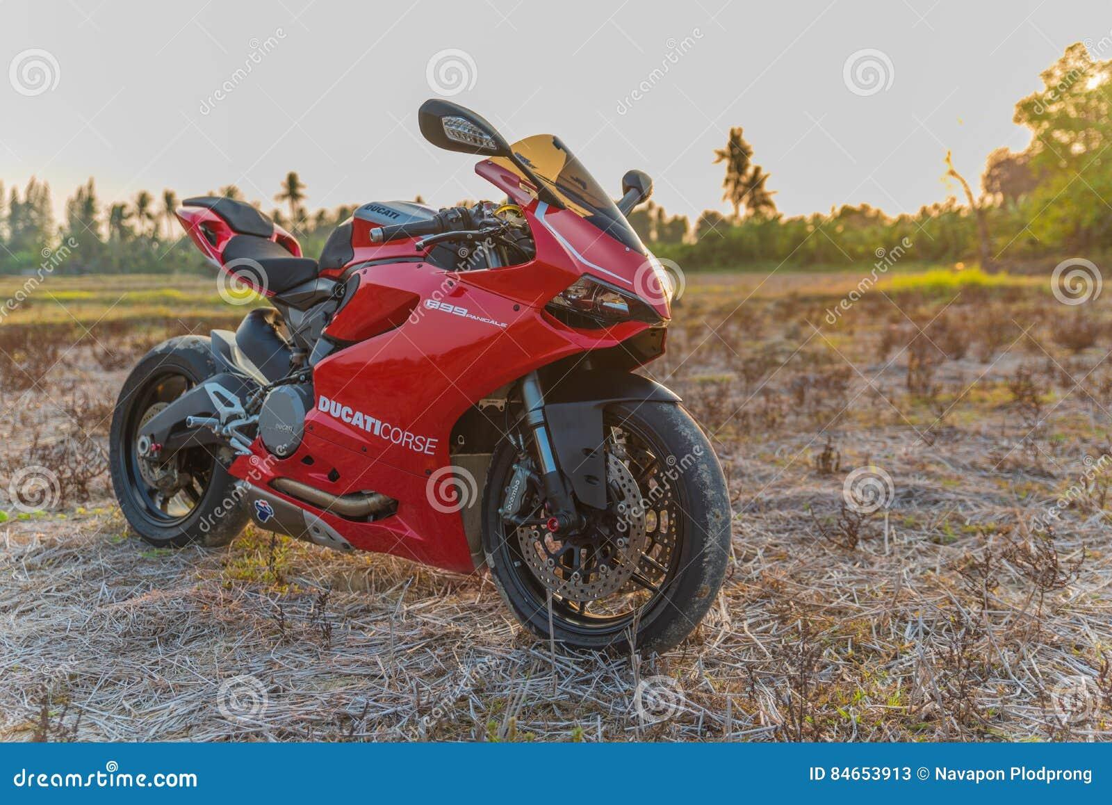 Ducati 899 Sport Bike By Ducati Motor Holding Editorial Stock Photo