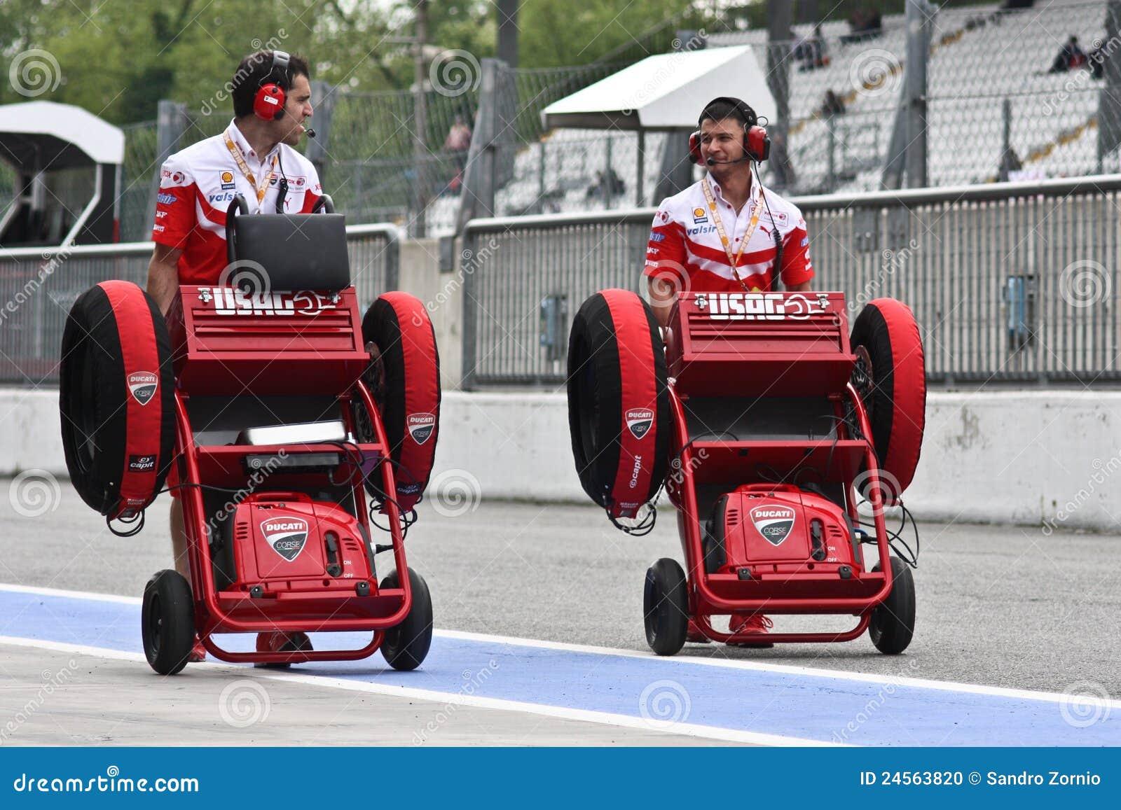 Ducati wheels transport