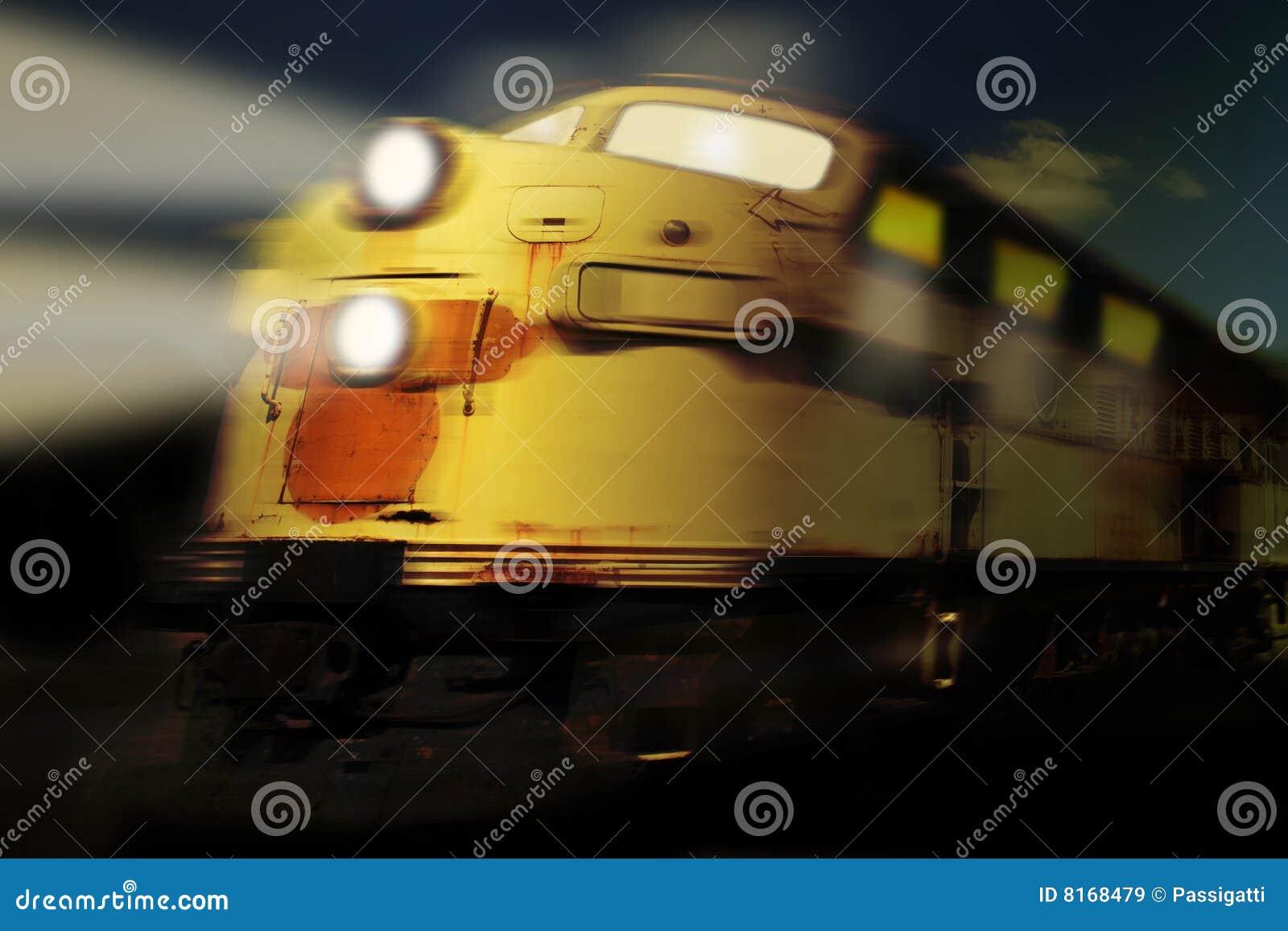 Ducha pociąg
