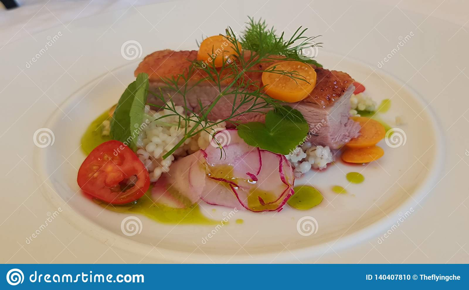 Duck Breast Dish