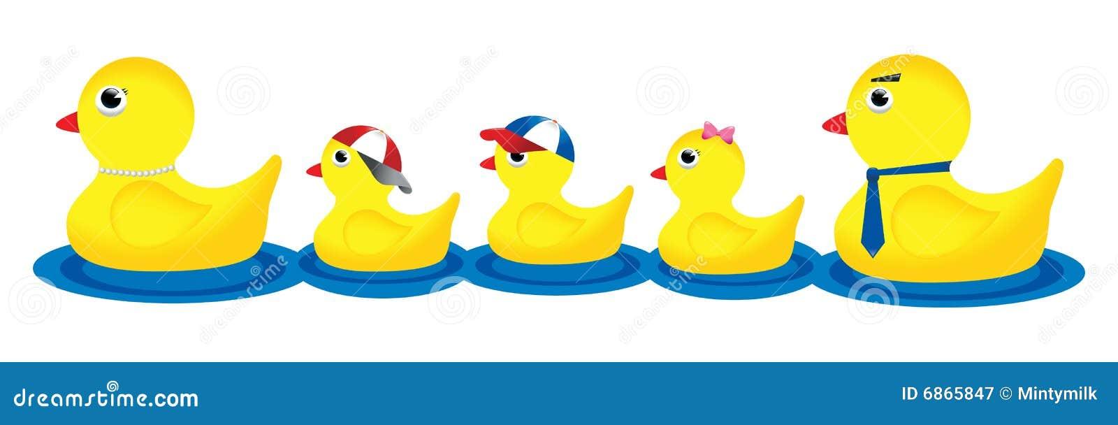 Duck Family Stock Illustration Illustration Of Childhood