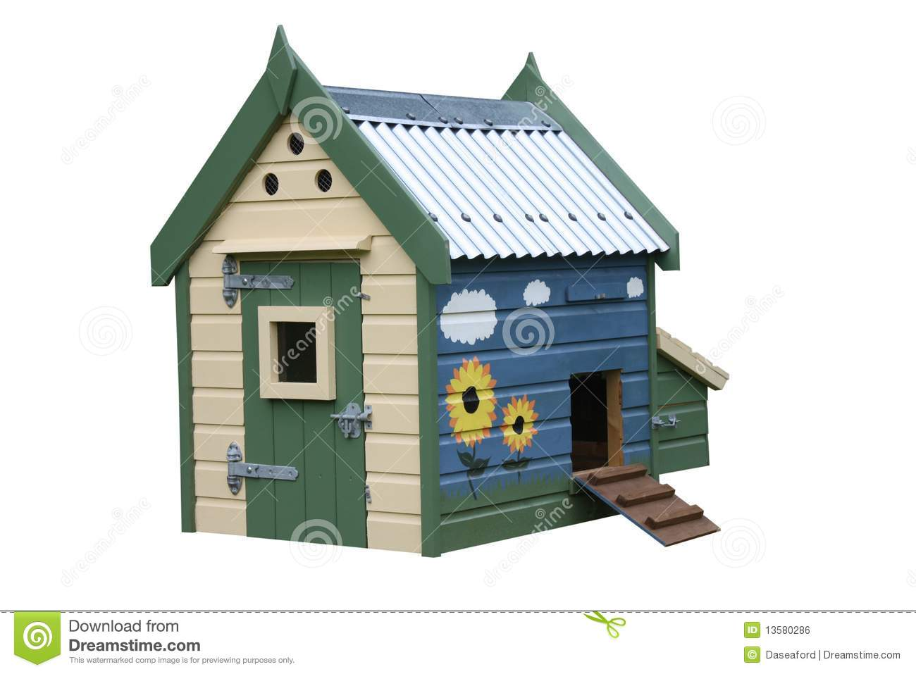 Duck house royalty free stock image image 13580286 for Building a duck house shelter