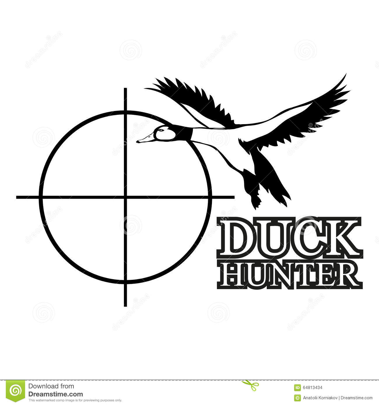 goose hunting clipart - photo #28