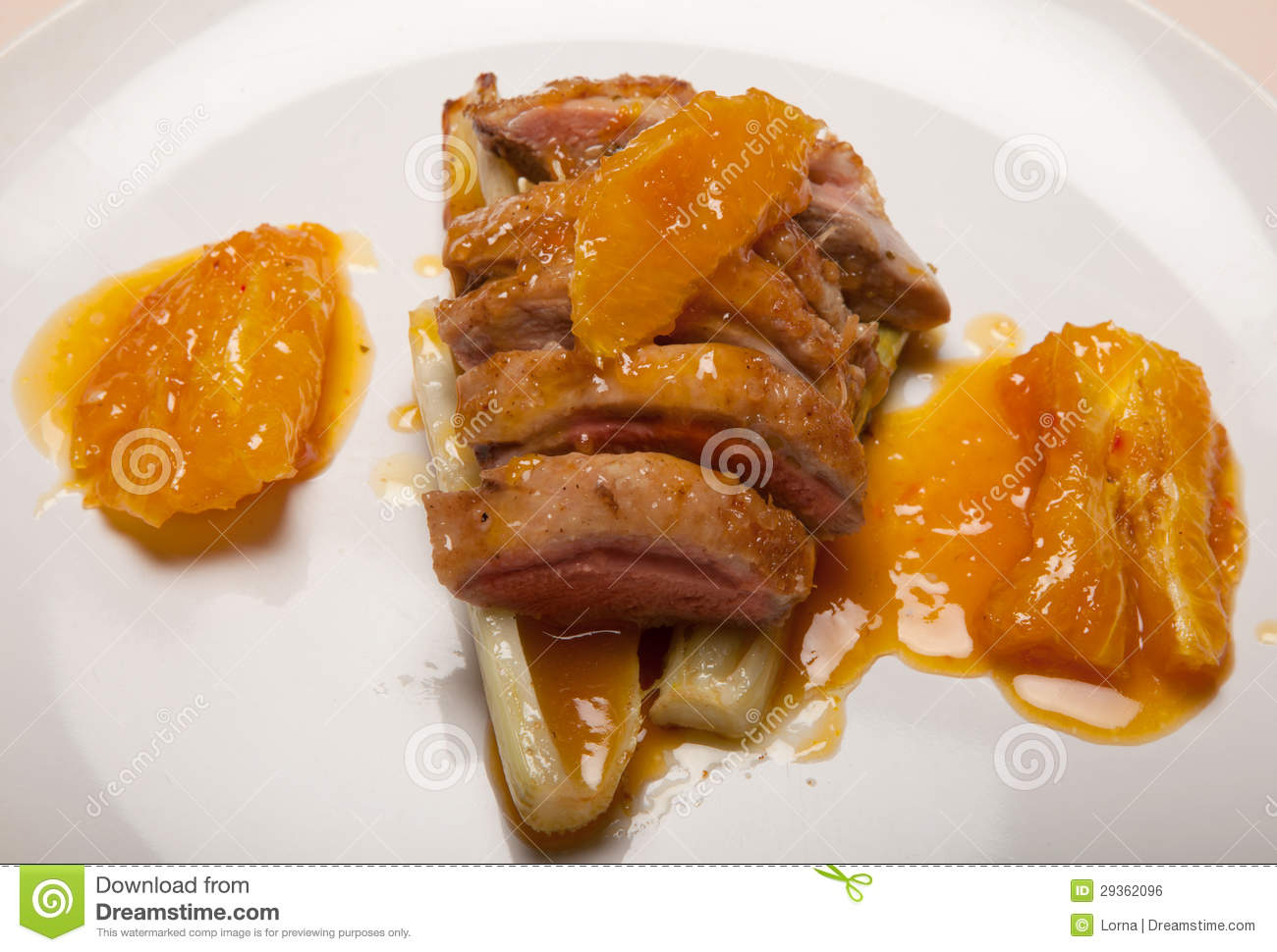 Duck A L'orange Royalty Free Stock Image - Image: 29362096