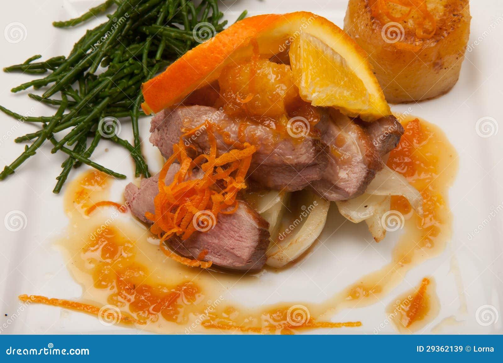 pes duck a l orange duck a l orange boneless duck breast a l orange ...