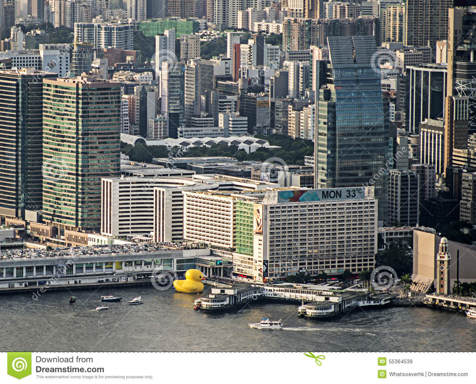 Duck Project di gomma, Hong Kong