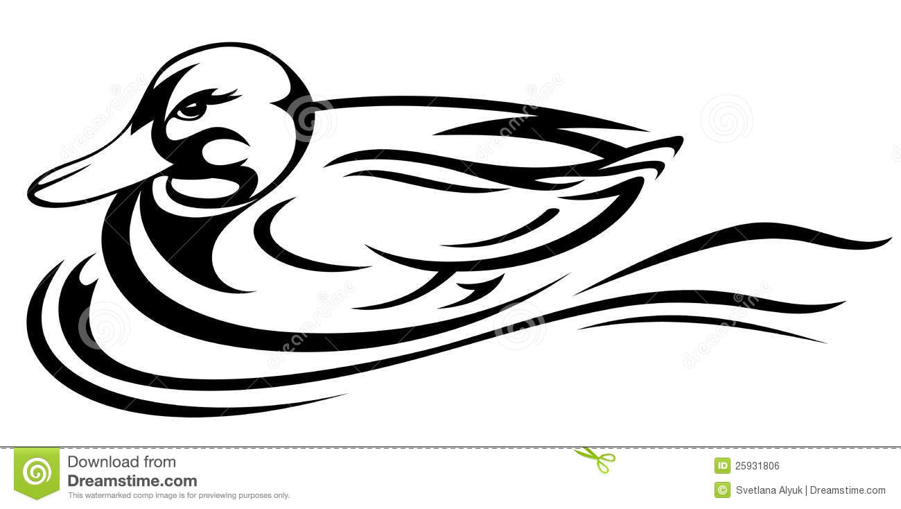 Duck Vector Royalty Free Stock Image - Image: 25931806