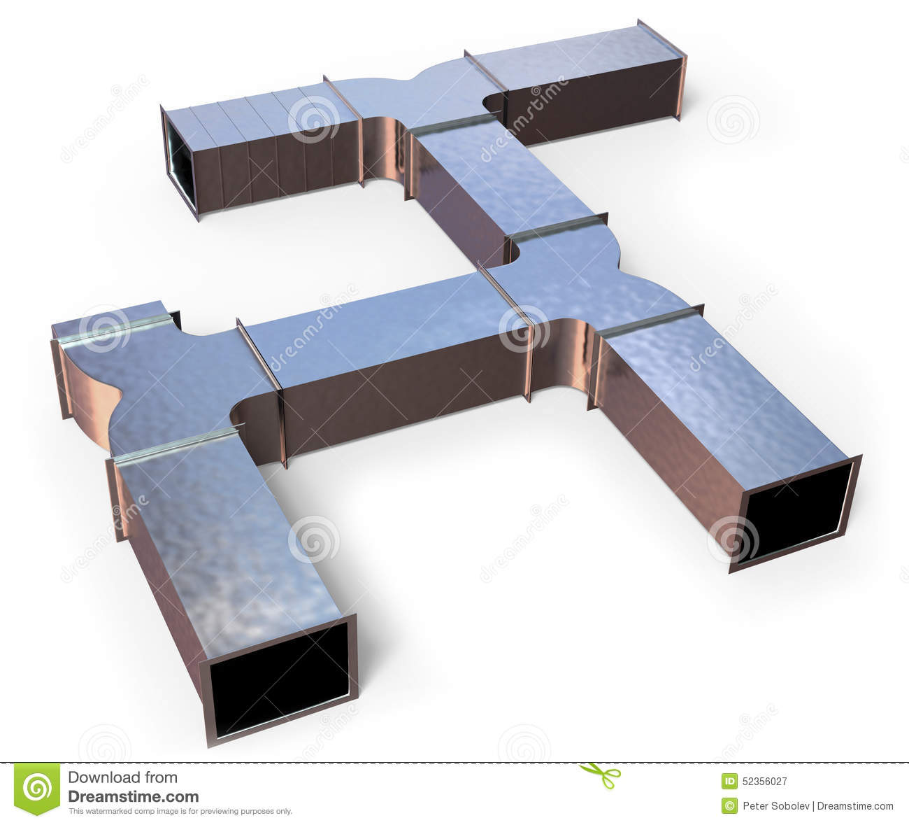 #83A328 Duct Work Stock Illustration Image: 52356027 Best 10403 Air Conditioner No Duct Work photos with 1300x1179 px on helpvideos.info - Air Conditioners, Air Coolers and more